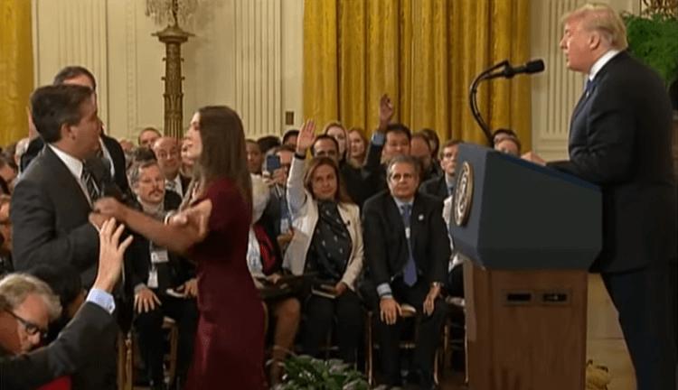 Trump Raises the Stakes With CNN