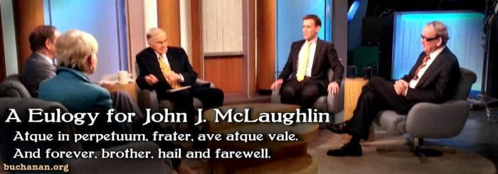 A Eulogy for John J. McLaughlin