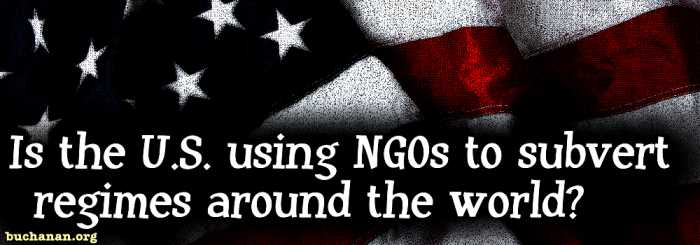 Are NGOs Agents of Subversion?