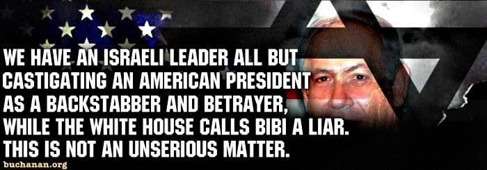 Barack Backhands Bibi