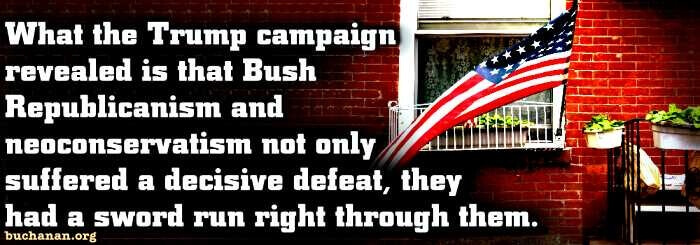 Bush Republicanism Is Dead and Gone