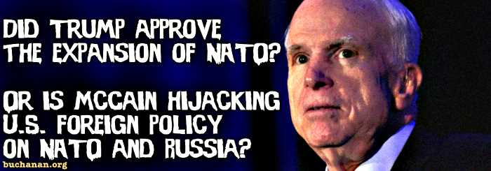 Is McCain Hijacking Trump's Foreign Policy?