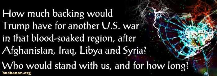 Will War Cancel Trump's Triumphs?