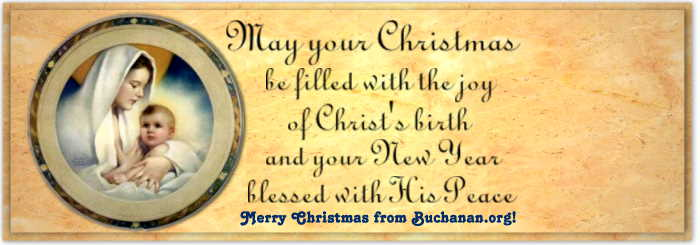 Merry Christmas from Buchanan.Org!