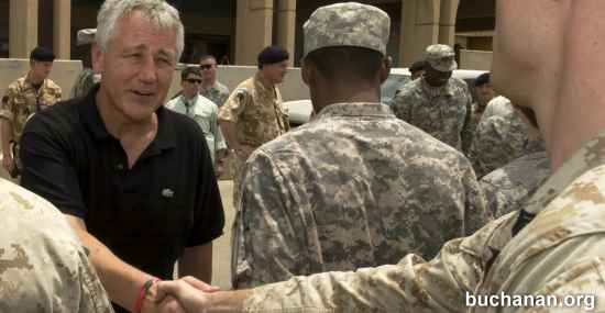 Is Hagel out of the Mainstream?