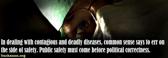 Ebola, Ideology and Common Sense