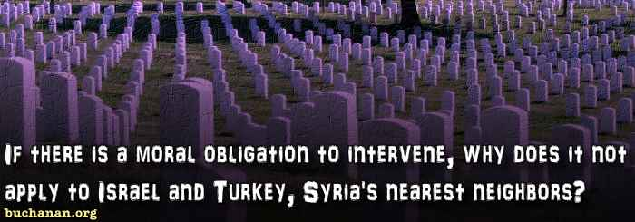 Intervene? Or End Syrian War?