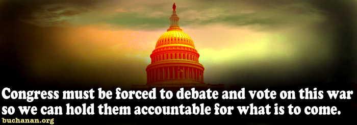 Let Congress Vote on Iraq War III