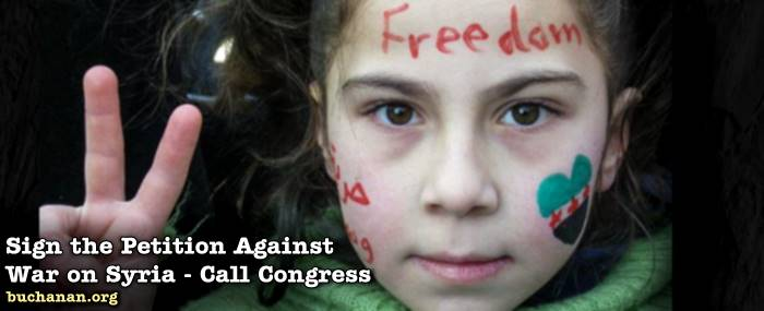UPDATE: Sign the White House Petition Against War in Syria, Then Call Congress Today!