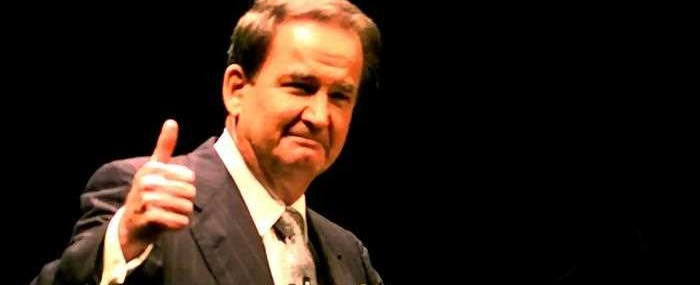 Patrick Buchanan Reveals Himself to Be the First Trumpist