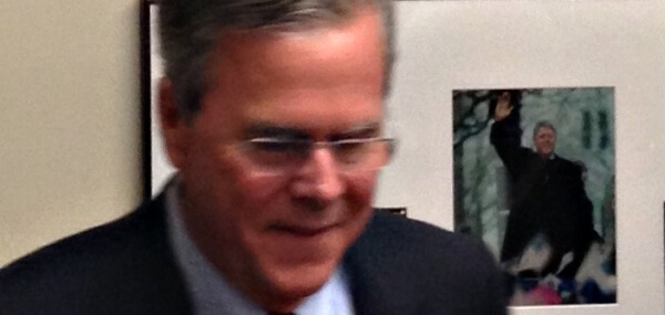 The Haunted Campaign of Jeb Bush