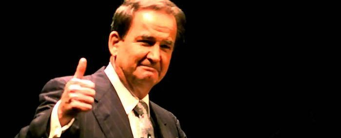 Pat Buchanan Picked as Man of the Year at WorldNetDaily