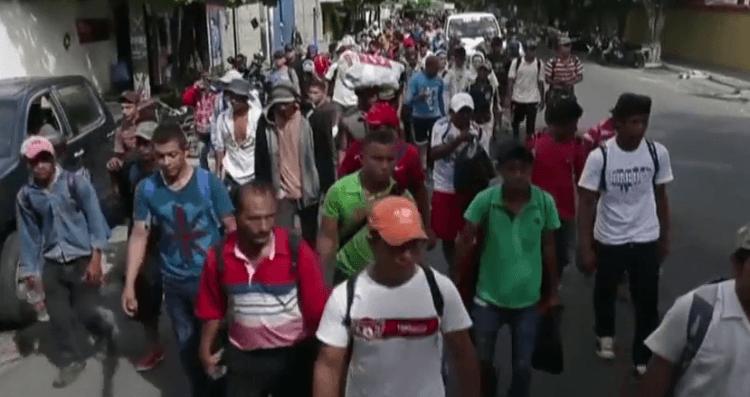 Caravan Puts Trump Legacy on the Line