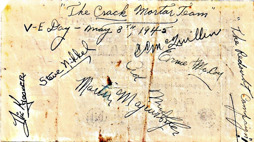 Band of Brothers Signatures