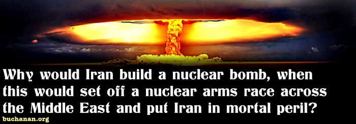 Does Iran Really Want a Bomb?