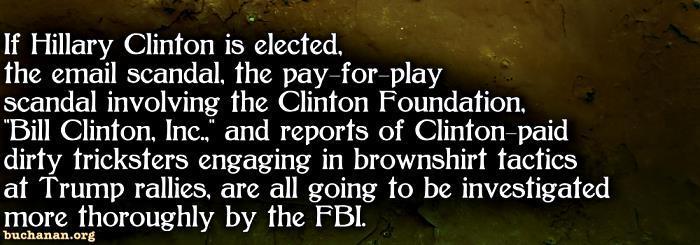 Hillary's Watergate?