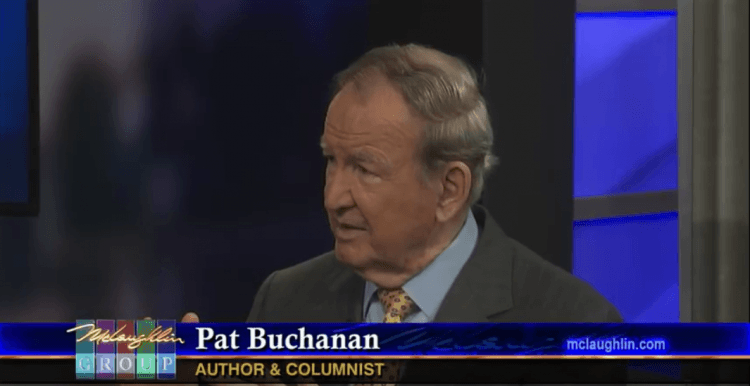 Pat Buchanan - McLaughlin Group