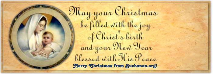 Merry Christmas from Buchanan.Org!