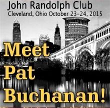 UPDATE – Meet Pat Buchanan in Cleveland!