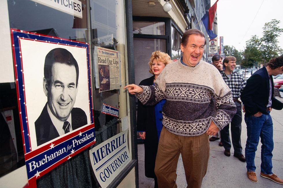 When Pat Buchanan Tried To Make America Great Again