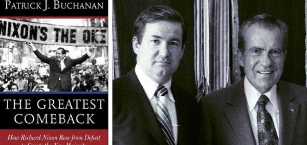 """When a Young Pat Buchanan Met Nixon: """"You're Not as Conservative as Bill Buckley, Are You?"""""""